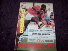 Woking v Witton Albion, 1993/94